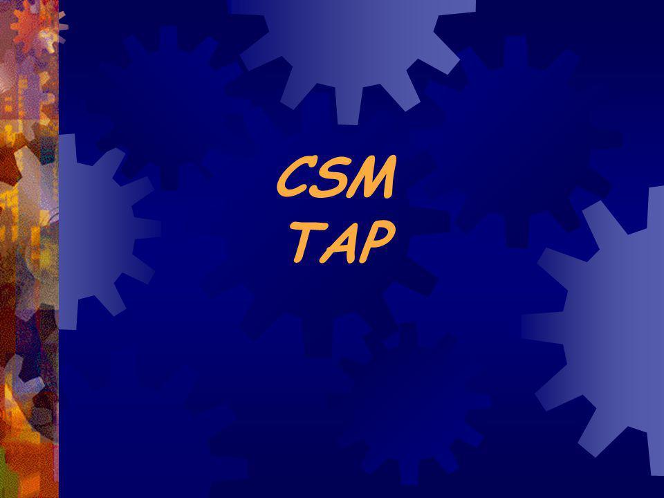 CSM TAP