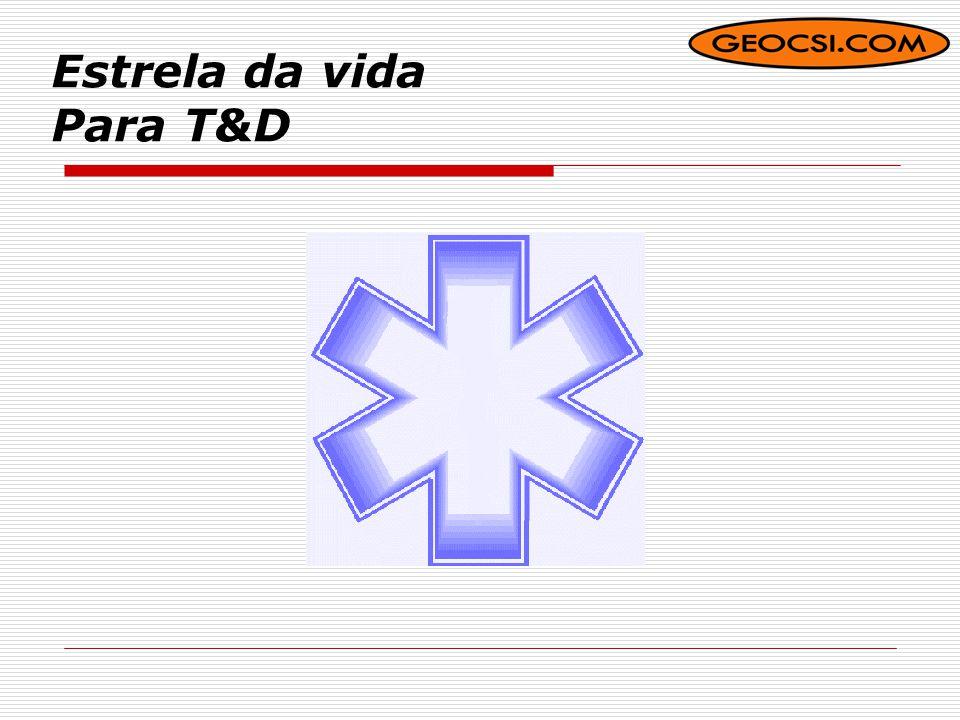 Estrela da vida Para T&D