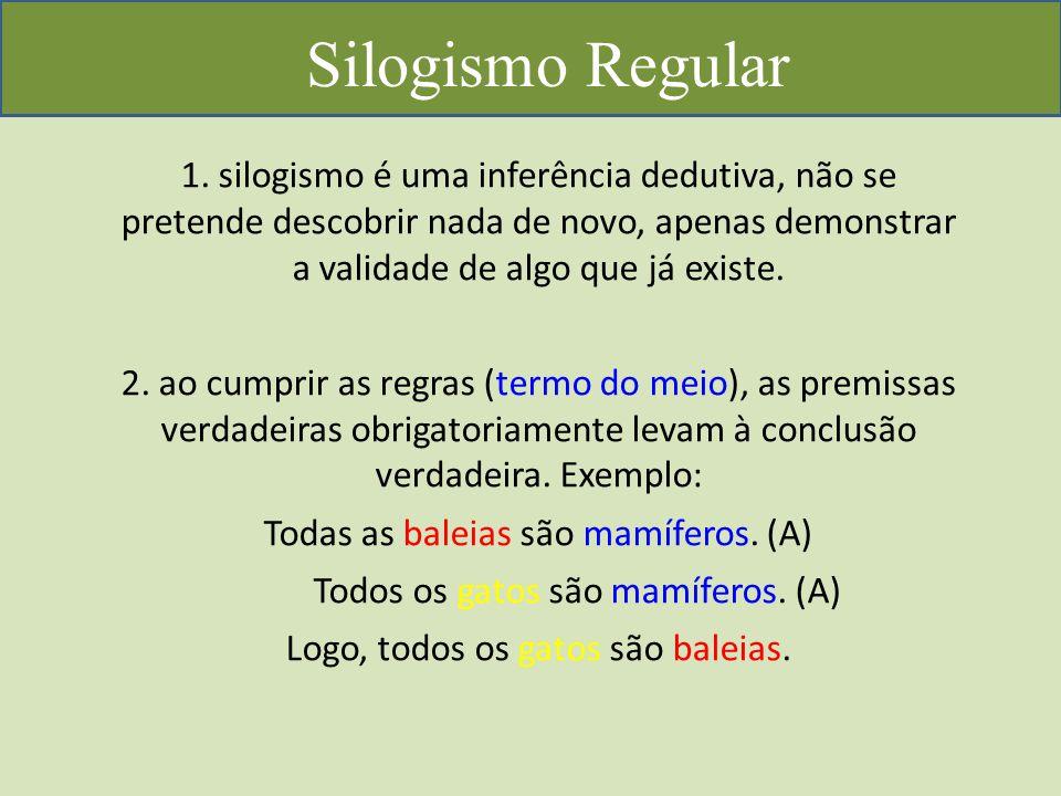 Silogismo Regular 1.