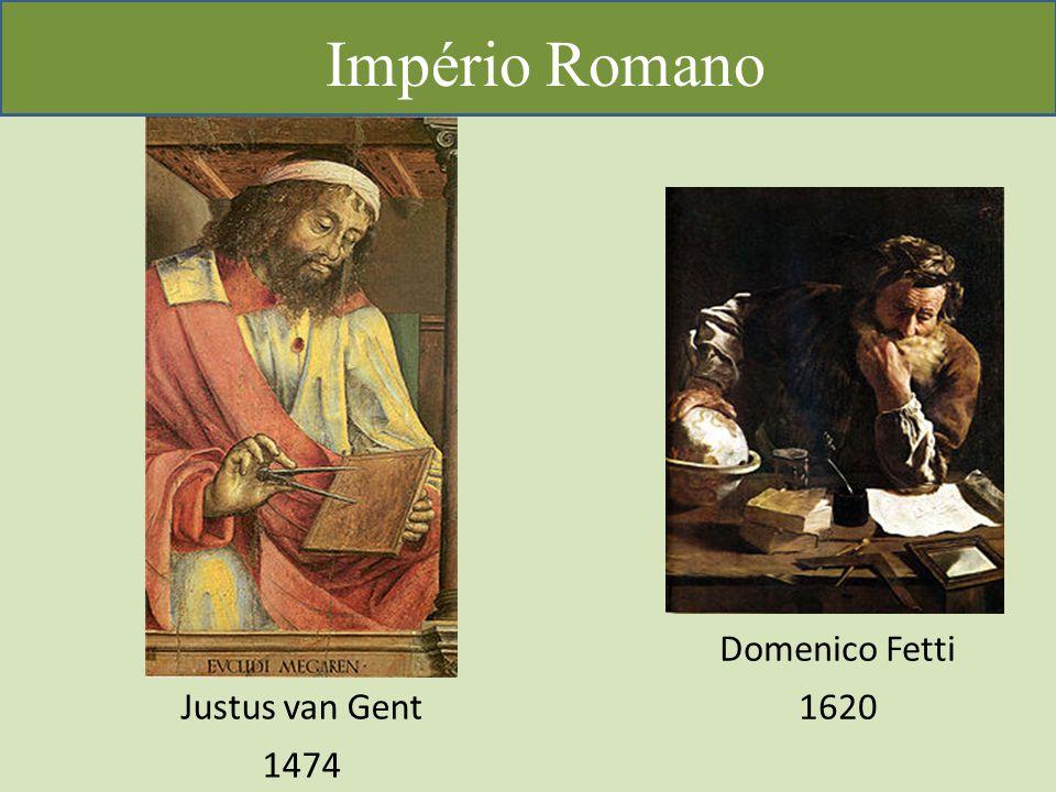 Império Romano Domenico Fetti 1620 Justus van Gent 1474