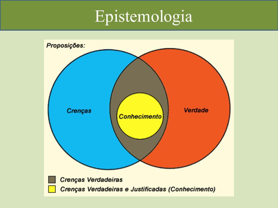 A Epistemologia reconhece circunstâncias históricas, psicológicas e sociológicas que levam a obtenção e os critérios pela qual ela se justifica ou invalida.