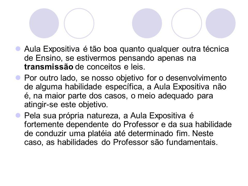 É a experiência do professor, tanto teórica quanto prática, que pode contribuir para a compreensão do assunto pelo aluno.