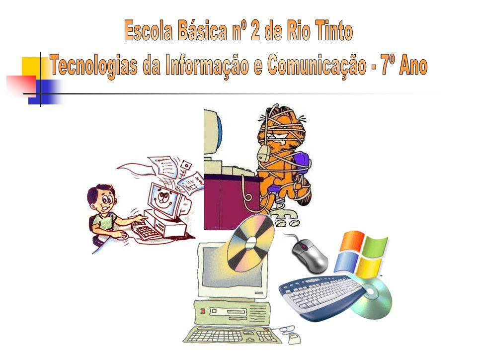 Serviços básicos (cont.) Download Transferência ou importação de ficheiros de um computador para o nosso.