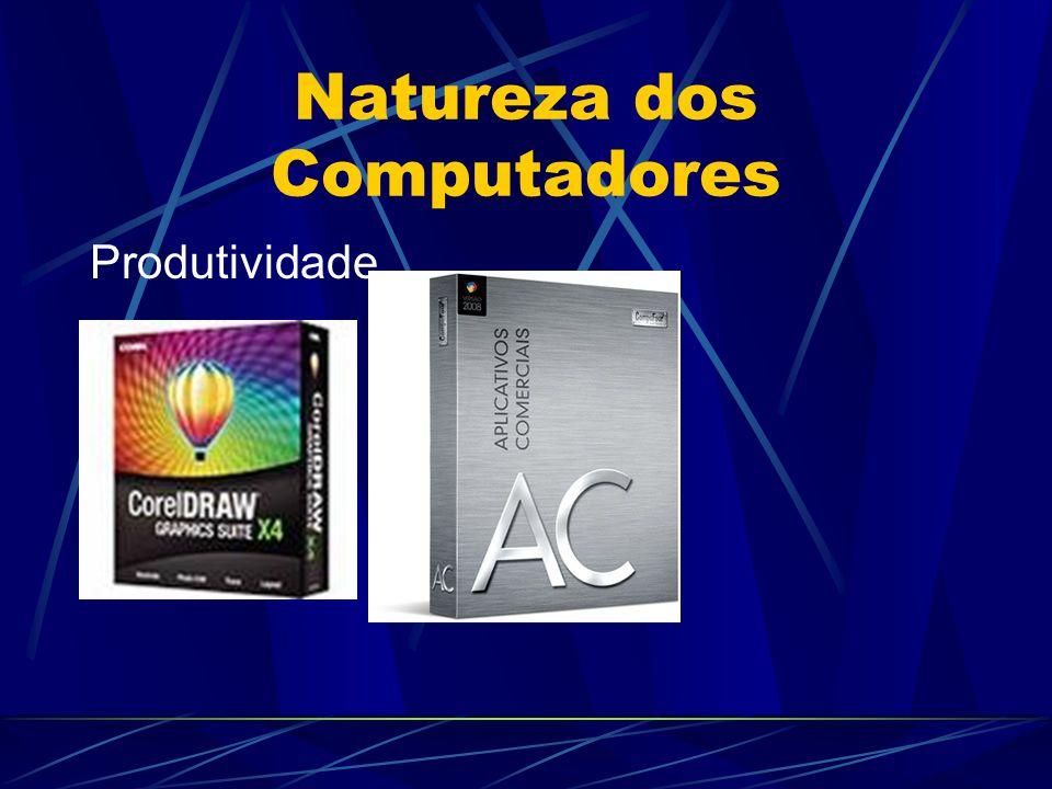 Computador Hardware: é a parte física do computador, ou seja, é o conjunto de componentes eletrônicos, circuitos integrados e placas, que se comunicam através de barramentos