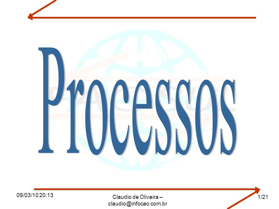 09/03/10 20:13 Claudio de Oliveira – claudio@infocao.com.br 1/21