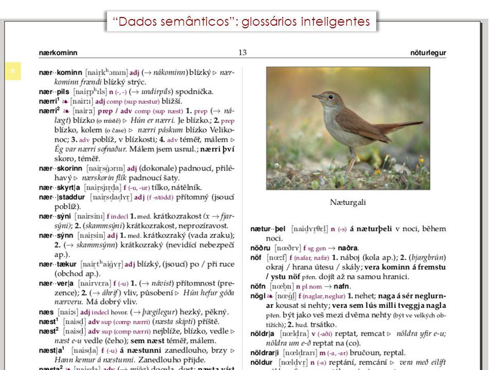 """""""Dados semânticos"""": glossários inteligentes"""