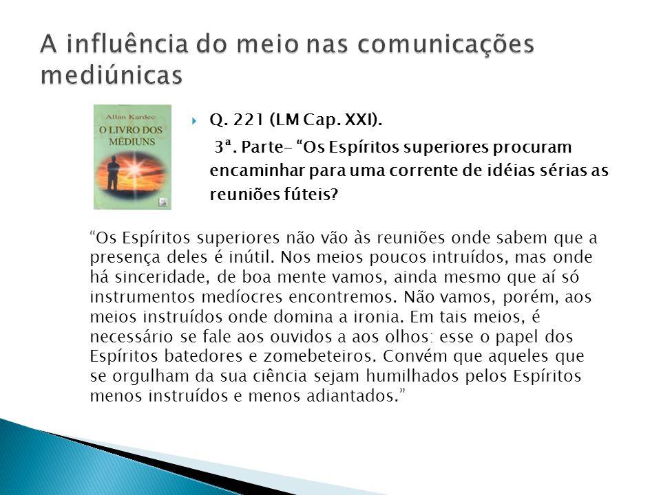  Q.221 (LM Cap. XXI). 3ª.