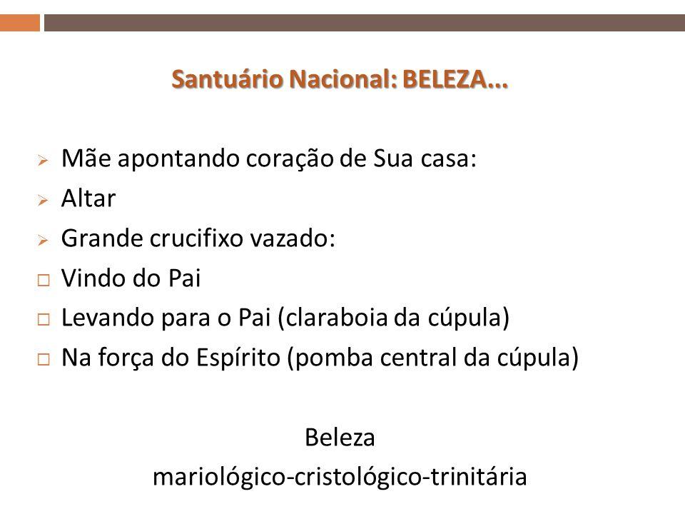 Santuário Nacional: BELEZA...