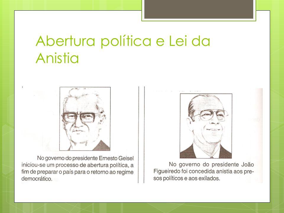 Abertura política e Lei da Anistia