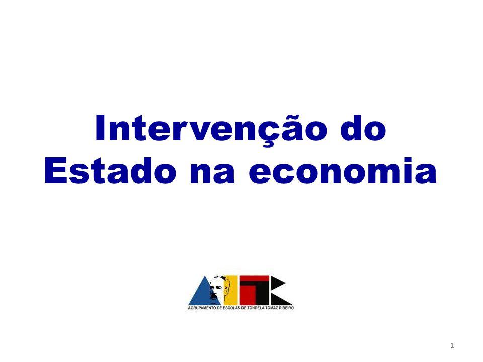 Intervenção do Estado na economia 1