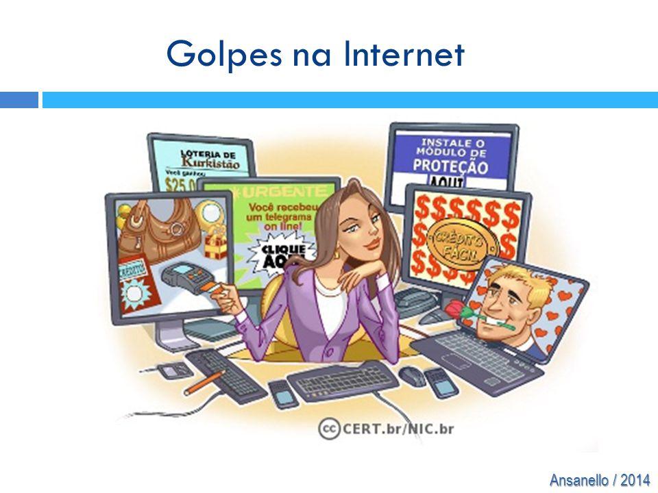 Ansanello / 2014 Golpes na Internet
