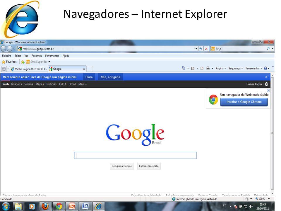 17 Navegadores – Internet Explorer