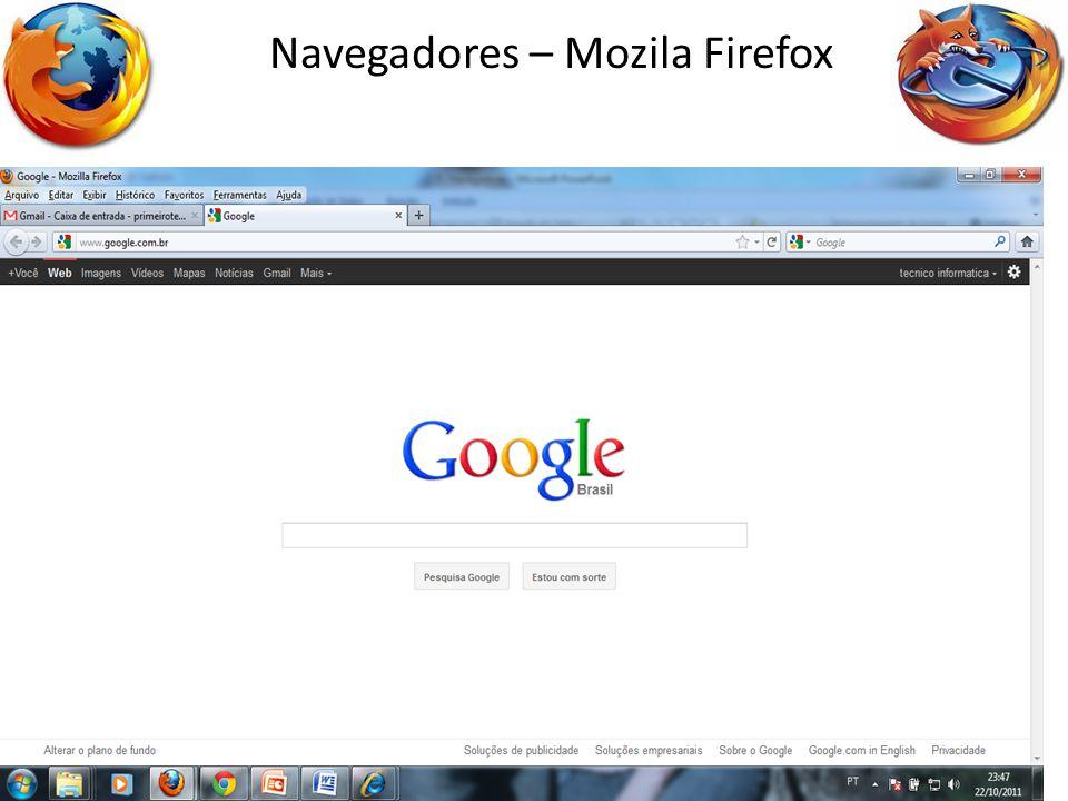 18 Navegadores – Mozila Firefox