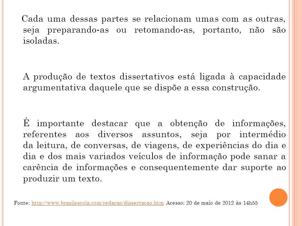Exemplo 1: Não saber usar a internet em um futuro próximo será como não saber abrir um livro ou acender um fogão, não sabermos algo que nos permita viver a cidadania na sua completitude (VAZ, 2008, p.