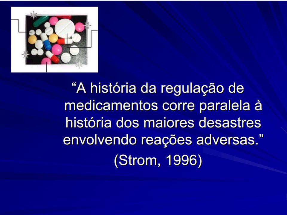 Histórico  Década de 30:  Falência renal causada pela comercialização de uma solução de sulfanilamida em dietilenoglicol.