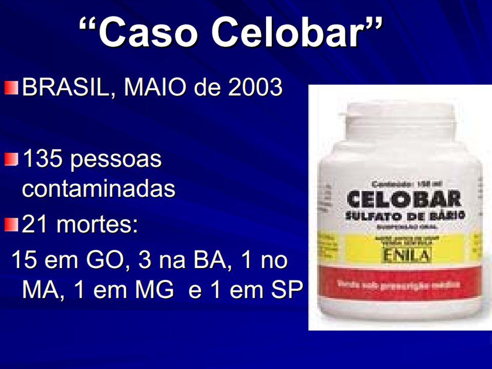 Caso Celobar  Junho de 2003.