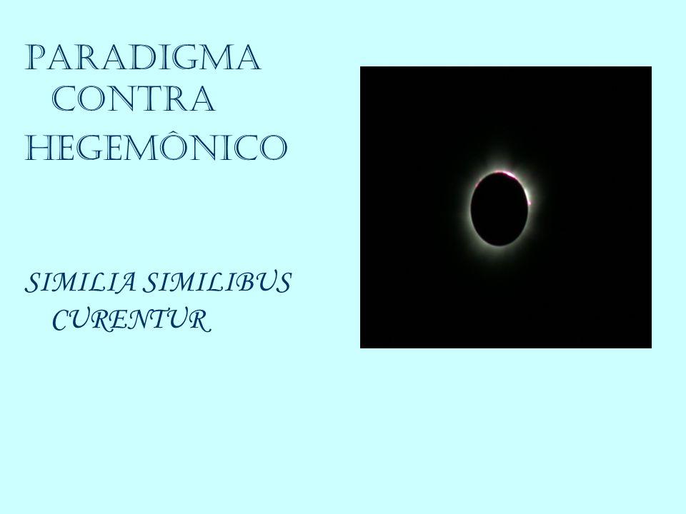 PARADIGMA CONTRA HEGEMÔNICO SIMILIA SIMILIBUS CURENTUR