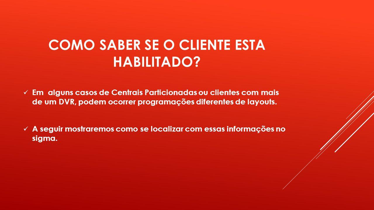 CADASTRO DO CLIENTE: