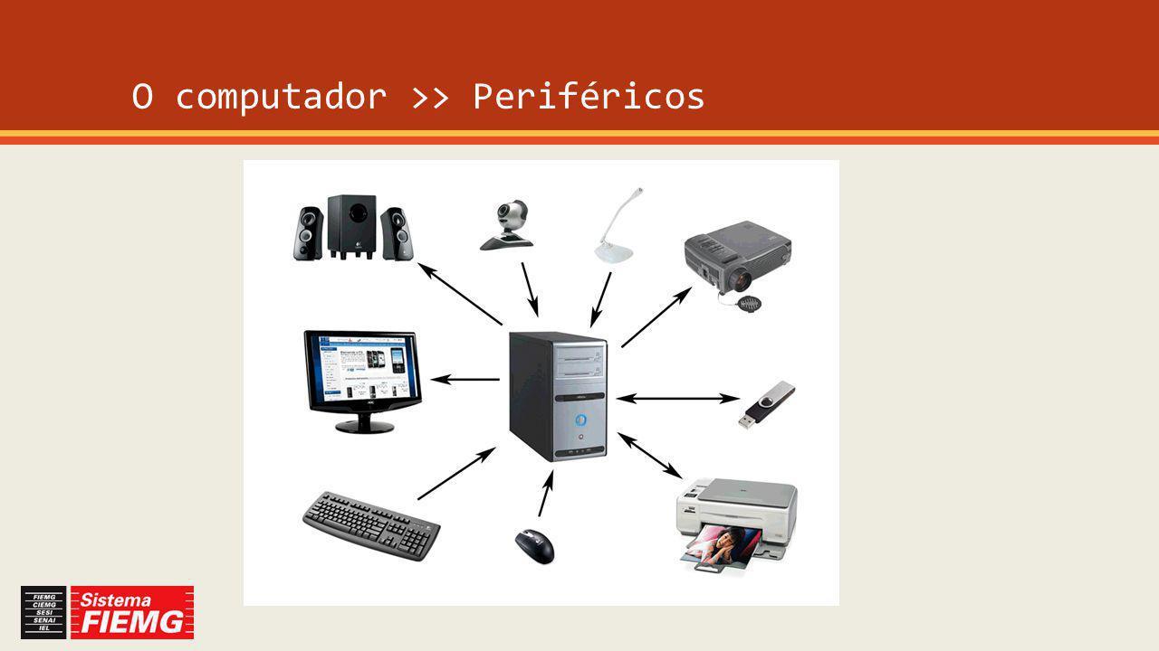 O computador >> Periféricos