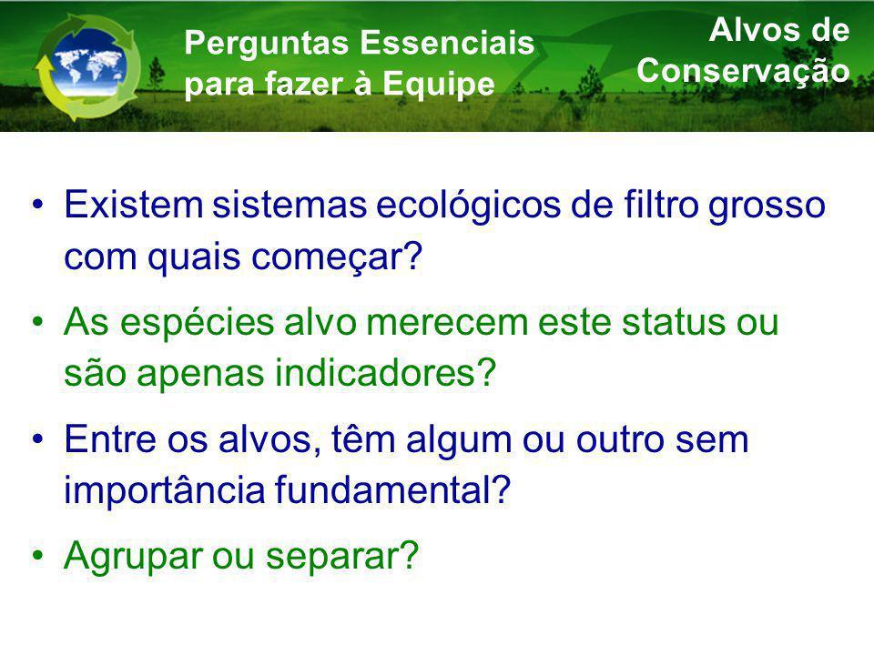 Existem sistemas ecológicos de filtro grosso com quais começar.