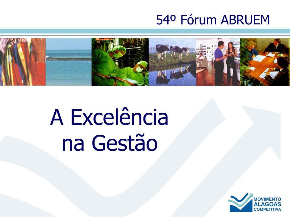 A Excelência na Gestão 54º Fórum ABRUEM