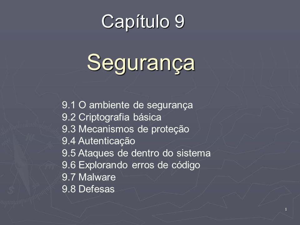 82 Código Móvel (1) Exemplos de códigos móveis:   Applets – pequenos programas que vêm com página web: O termo foi introduzido pelo AppleScript em 1993.