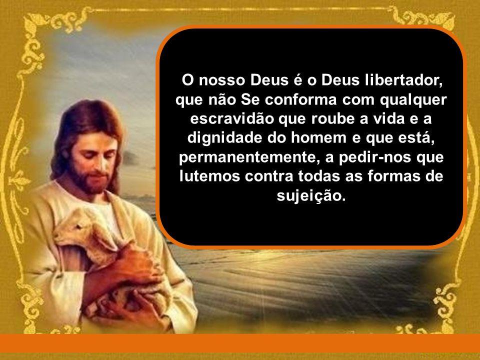 """A primeira leitura apresenta-nos o Deus libertador, que acompanha com solicitude e amor a caminhada do seu Povo para a liberdade. Esse """"caminho"""" é o p"""