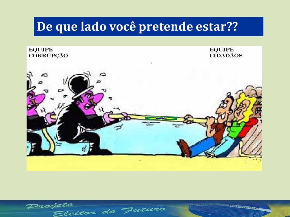 É IMPORTANTE CONHECER OS CANDIDATOS!.