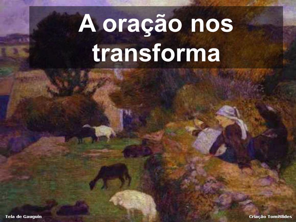 Tela de GauguinCriação TomiSlides Jesus sentiu uma força saindo de si e disse: