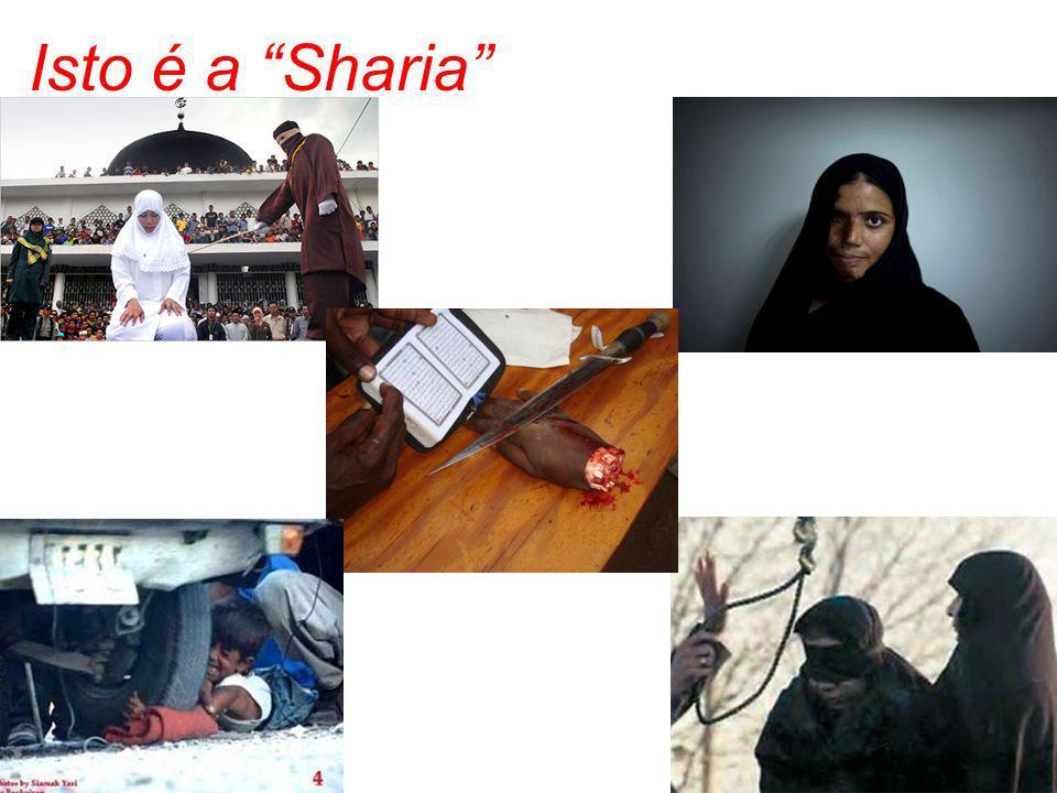 """Isto é a """"Sharia"""""""