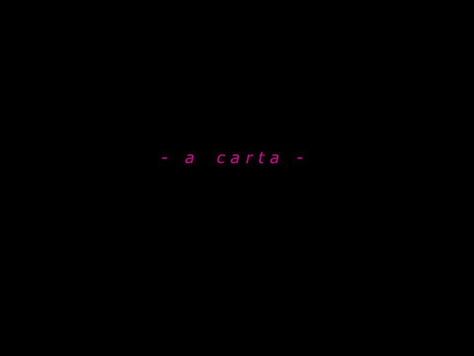 - a c a r t a -