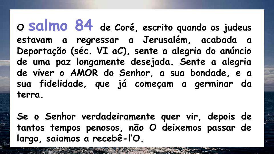 Isaías 40, 1-5. 9-11 Consolai, consolai o meu povo, diz o vosso Deus.