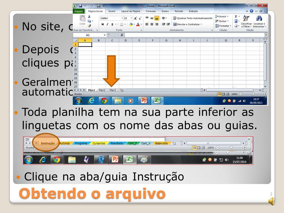 Administra Curso como administrar um curso escoteiro com facilidade Um arquivo Excel para gerenciar a programação e elaboração dos relatórios de cursos solicitados pela Região Escoteira de São Paulo