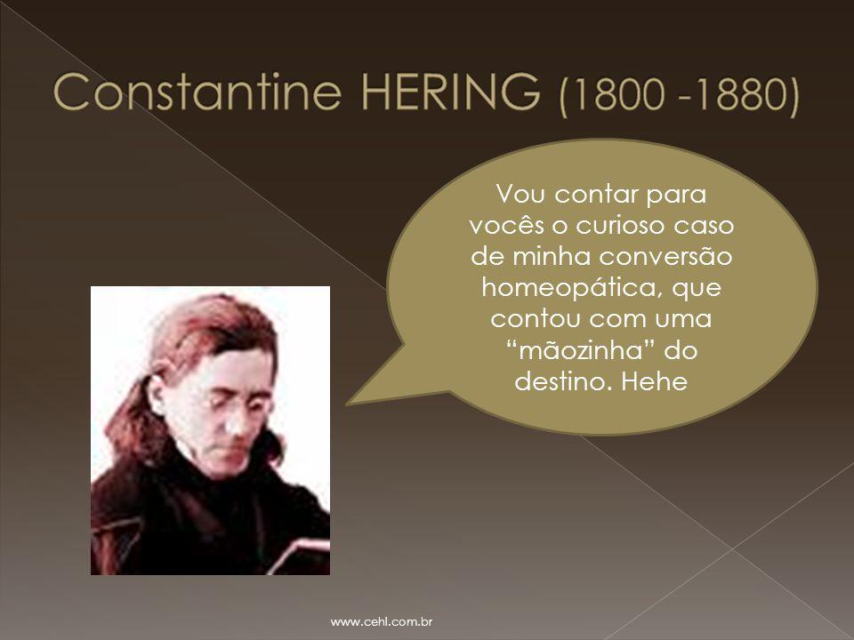 """Vou contar para vocês o curioso caso de minha conversão homeopática, que contou com uma """"mãozinha"""" do destino. Hehe www.cehl.com.br"""