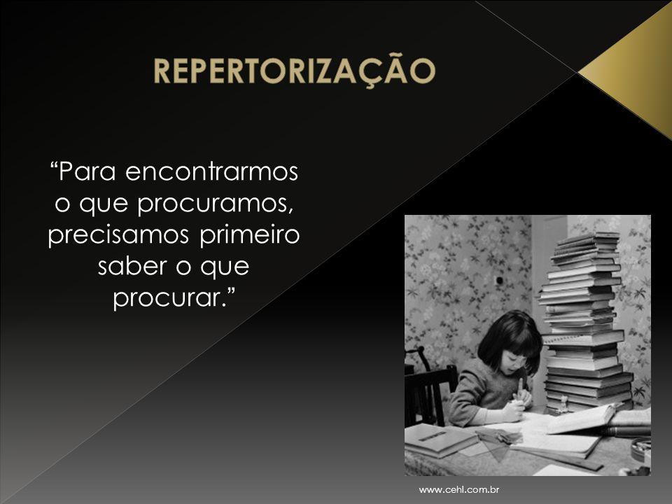 """"""" Para encontrarmos o que procuramos, precisamos primeiro saber o que procurar. """" www.cehl.com.br"""