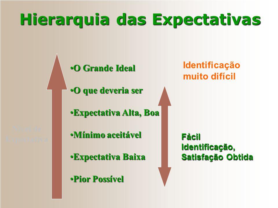 Modelo Básico Satisfação do Cliente Valor Adicionado e Lealdade Lucratividade e Produtividade Expectativas do Cliente Desempenho do Produto ou Serviço