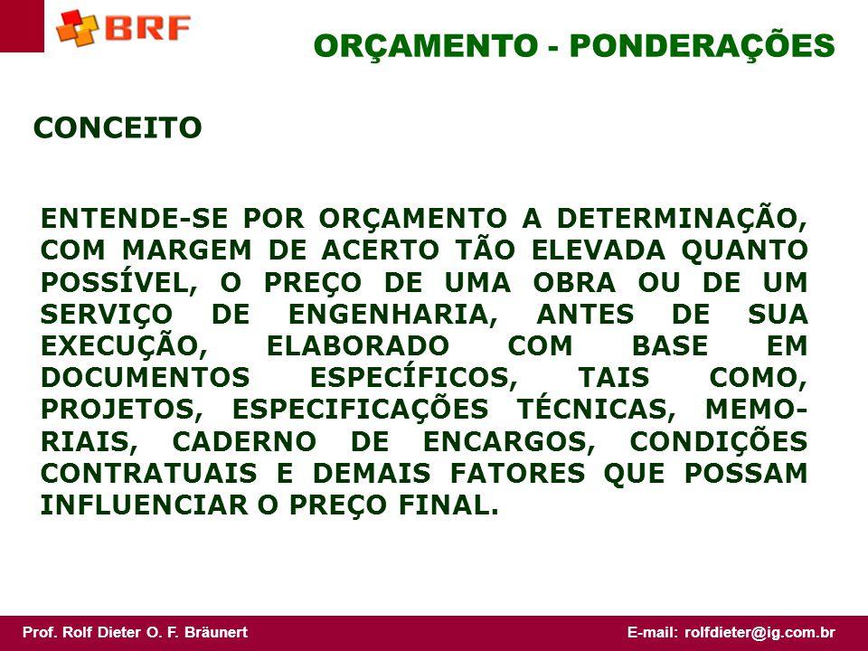 Prof.Rolf Dieter O. F. BräunertE-mail: rolfdieter@ig.com.br COMO DIFERENCIAR.