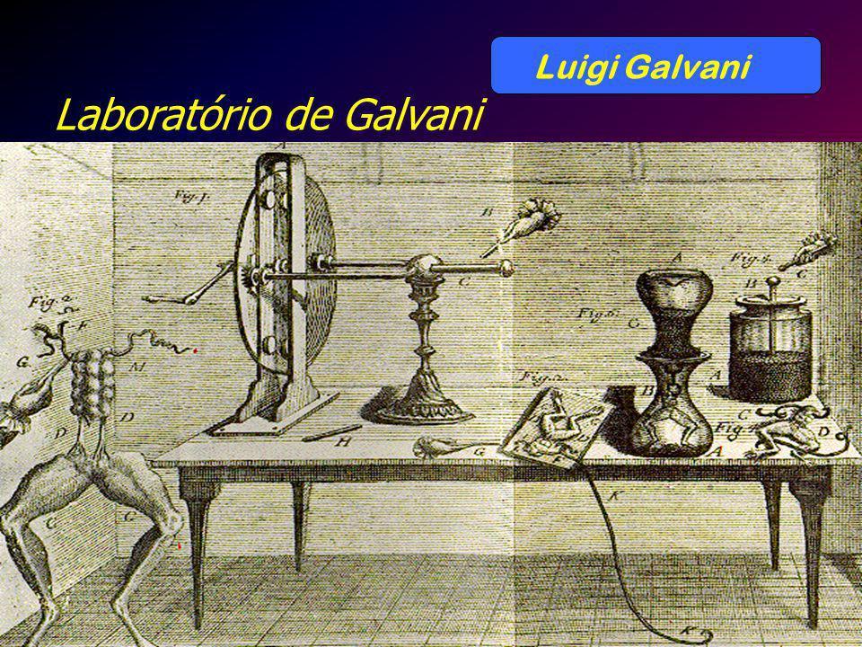 Luigi Galvani Laboratório de Galvani