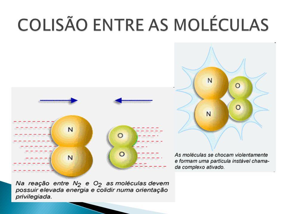  O catalisador é uma substância que aumenta a velocidade da reação, sem ser consumida durante tal processo.
