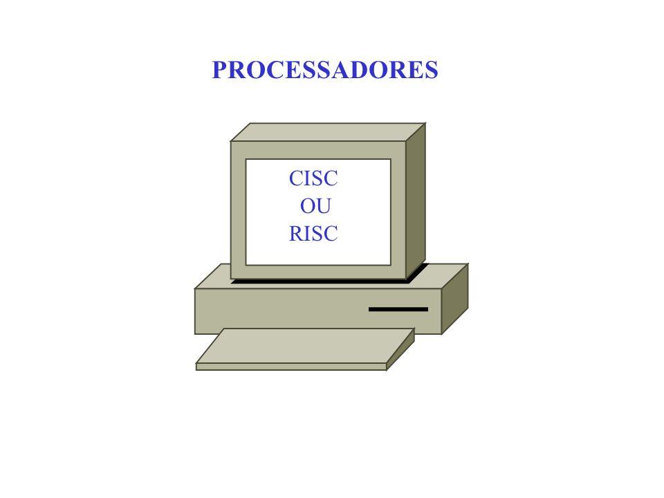 PROCESSADORES CISC OU RISC