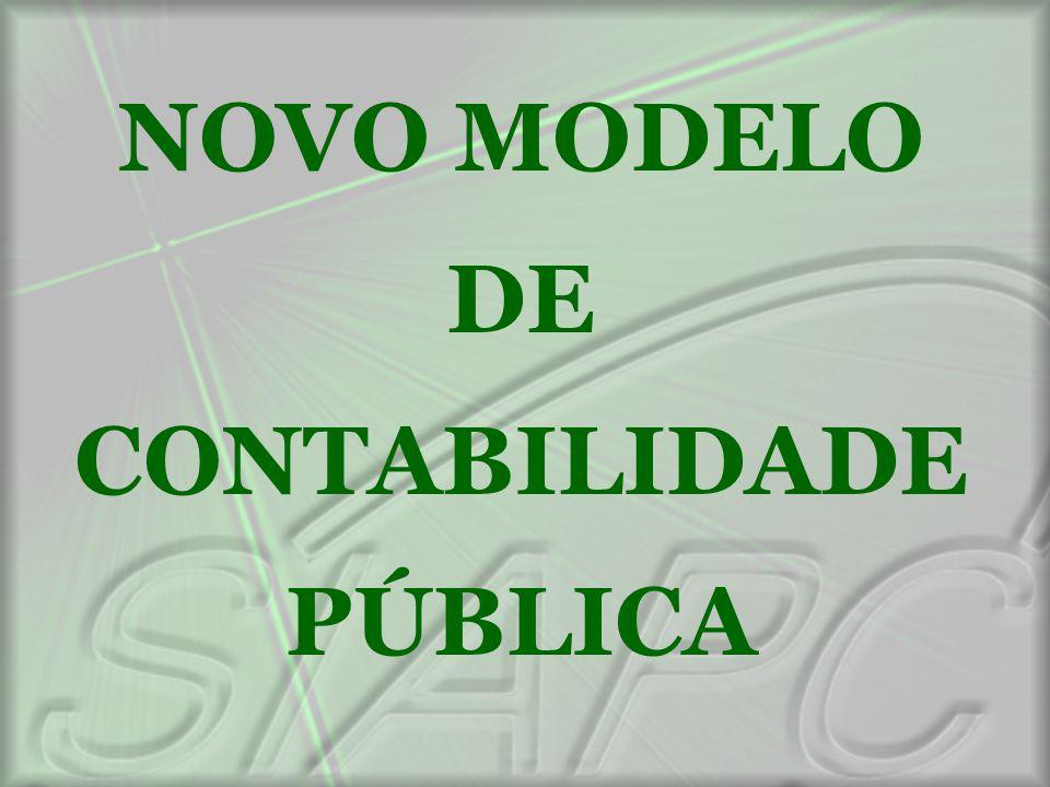 NOVO MODELO DE CONTABILIDADE PÚBLICA
