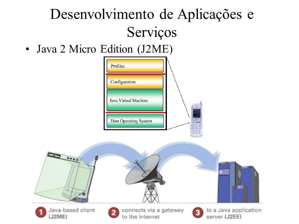 Desenvolvimento de Aplicações e Serviços Java 2 Micro Edition (J2ME)