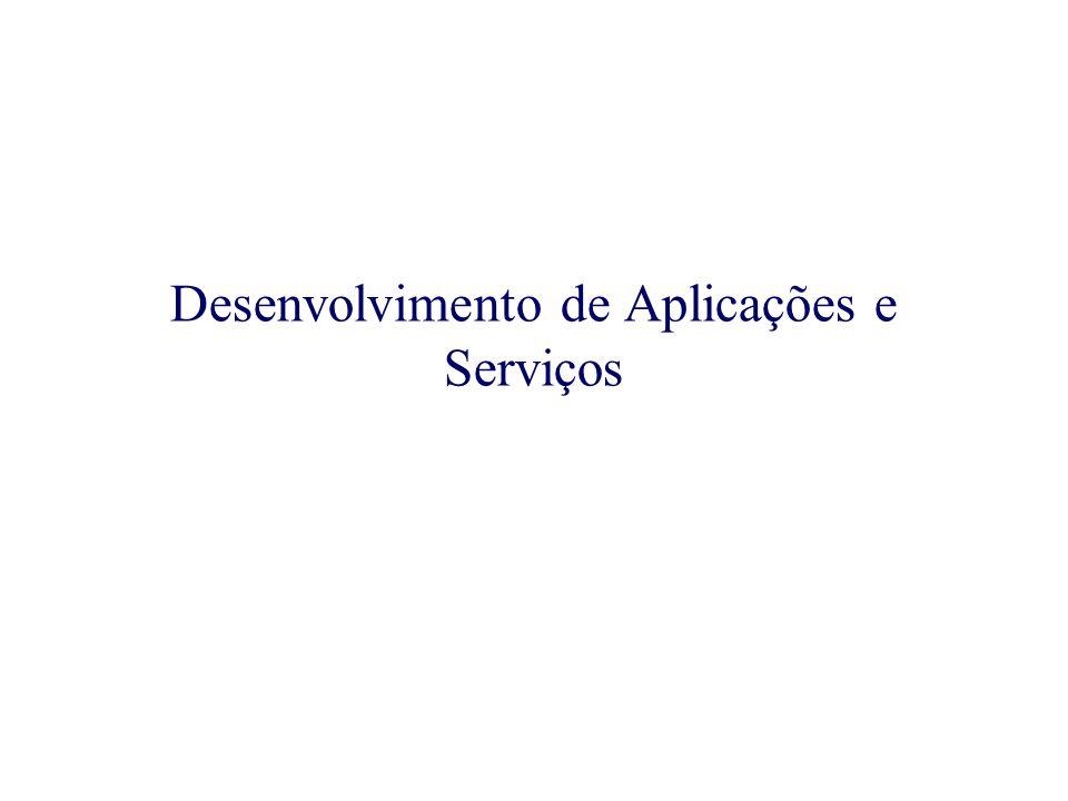 Existem muitos ambientes e ferramentas para o desenvolvimento de aplicação e serviços para computação Móvel.