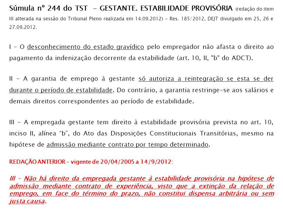 Compensação de jornada atividade insalubre **CANCELADA** Súmula nº 349 do TST.