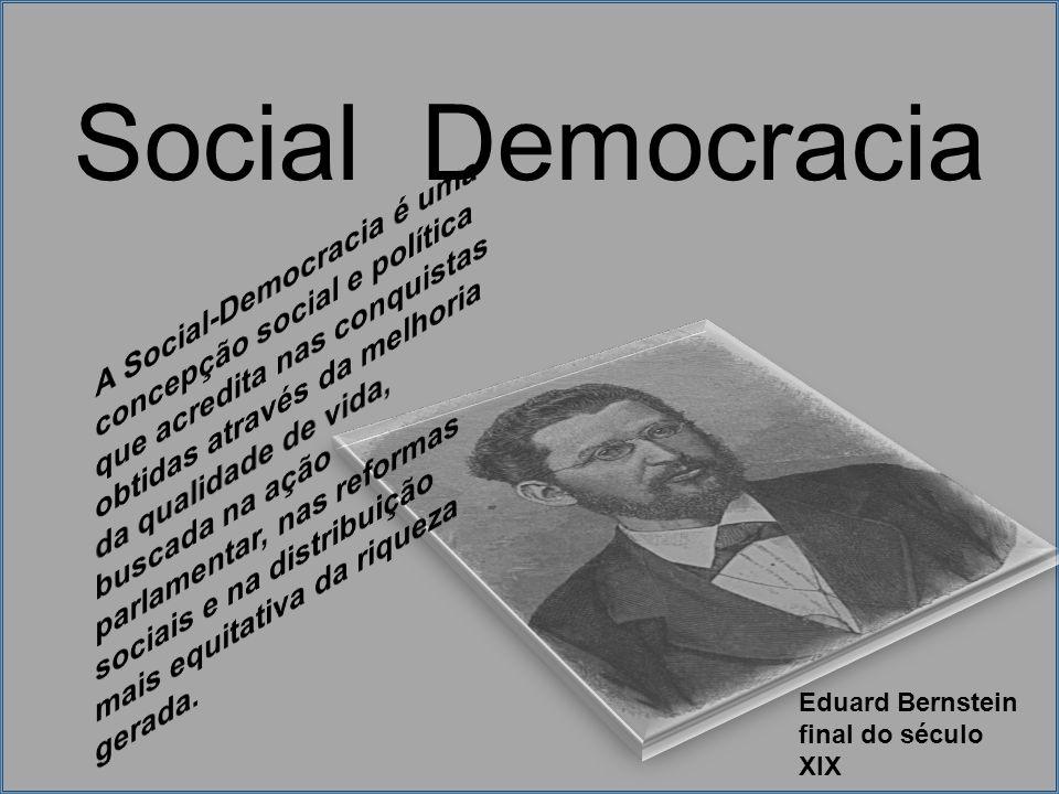Social Democracia Eduard Bernstein final do século XIX