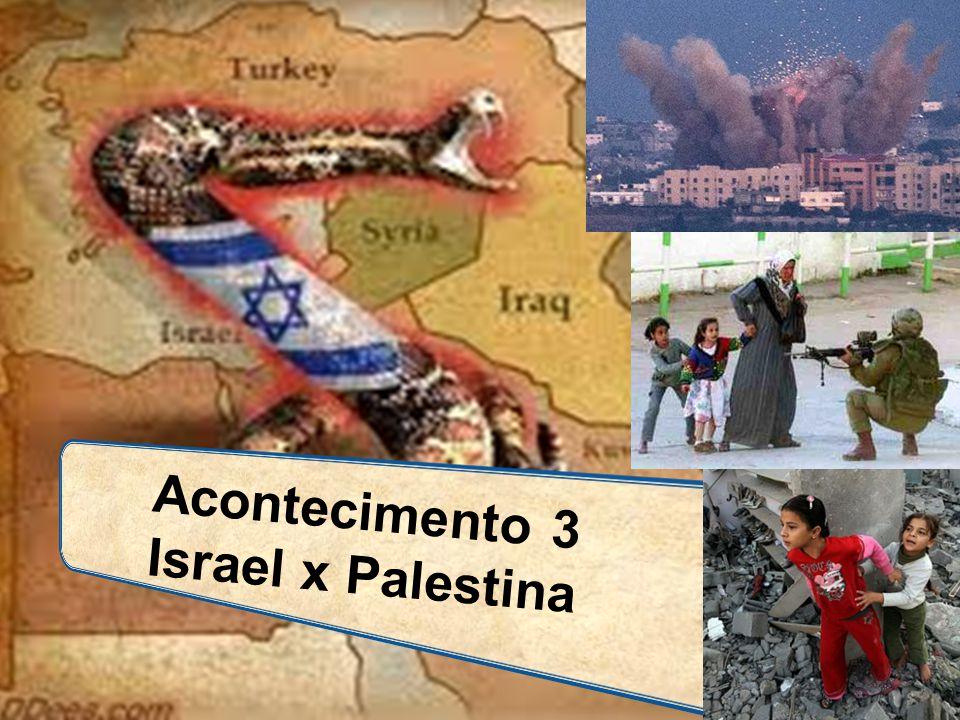 Acontecimento 3 Israel x Palestina