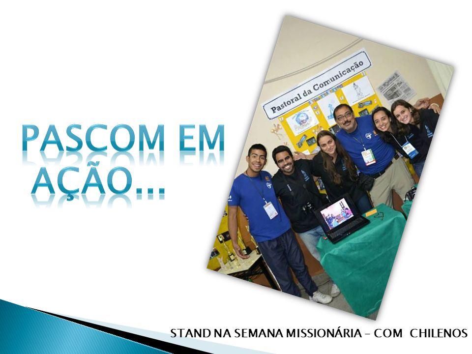 STAND NA SEMANA MISSIONÁRIA – COM CHILENOS