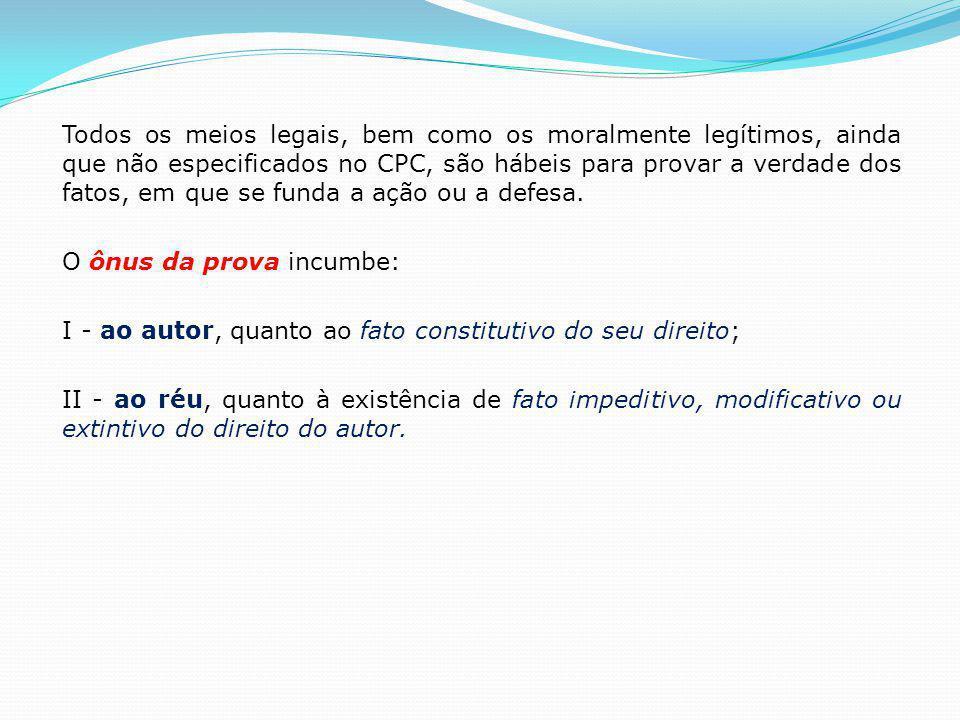 2.4.1.Meios de Provas PROVA TESTEMUNHAL (arts. 400 a 419 CPC) Art.