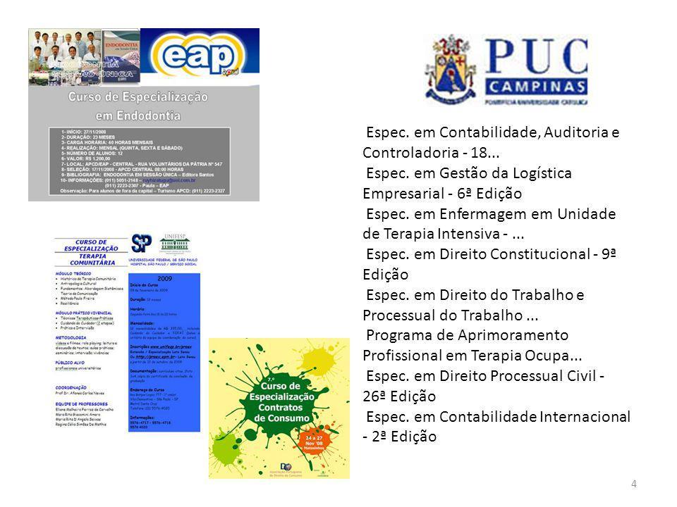 4 Espec. em Contabilidade, Auditoria e Controladoria - 18...