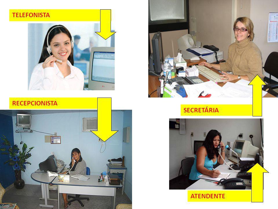 9 TELEFONISTA RECEPCIONISTA SECRETÁRIA ATENDENTE